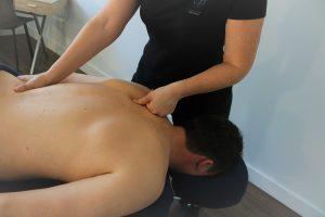 Massage des tissus profond